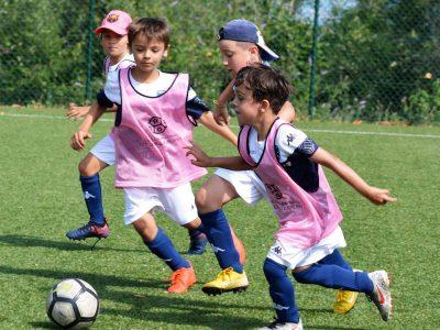 Thonon Evian Grand Genève Football Club - Stage Foot Vacances Une première semaine au top