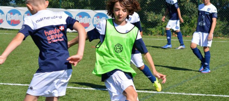 Thonon Evian Grand Genève Football Club - Stage foot Semaine 2 Toujours dans la bonne humeur