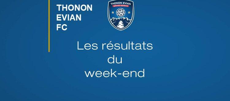 Thonon Evian Grand Genève Football Club - RESULTATS DU WEEK-END 4