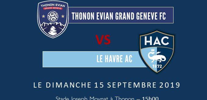 Thonon Evian Grand Genève Football Club - TEGGFC-LE HAVRE