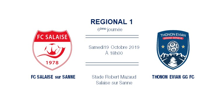 Thonon Evian Grand Genève Football Club - TEGGFC-SALAISE
